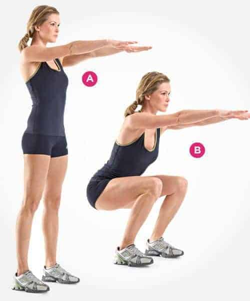 Forward Lunges Exercise {10 proven Exercises To Lose Upper Thigh Fat}