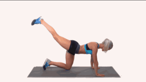 Leg pulses {Best Exercises to Lose Upper Thigh Fat fast in 7 Days
