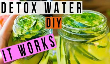 10 DIY Detox Water For Weight Loss And Cleansing
