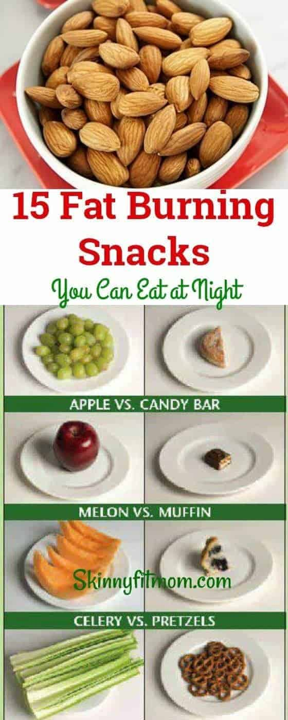 High Protein Fat Burning Snacks You Can Eat at Night to Lose Weight Fast. Lose some weight even while you sleep. #fatburningsnacks #snacks #nutrition #diet