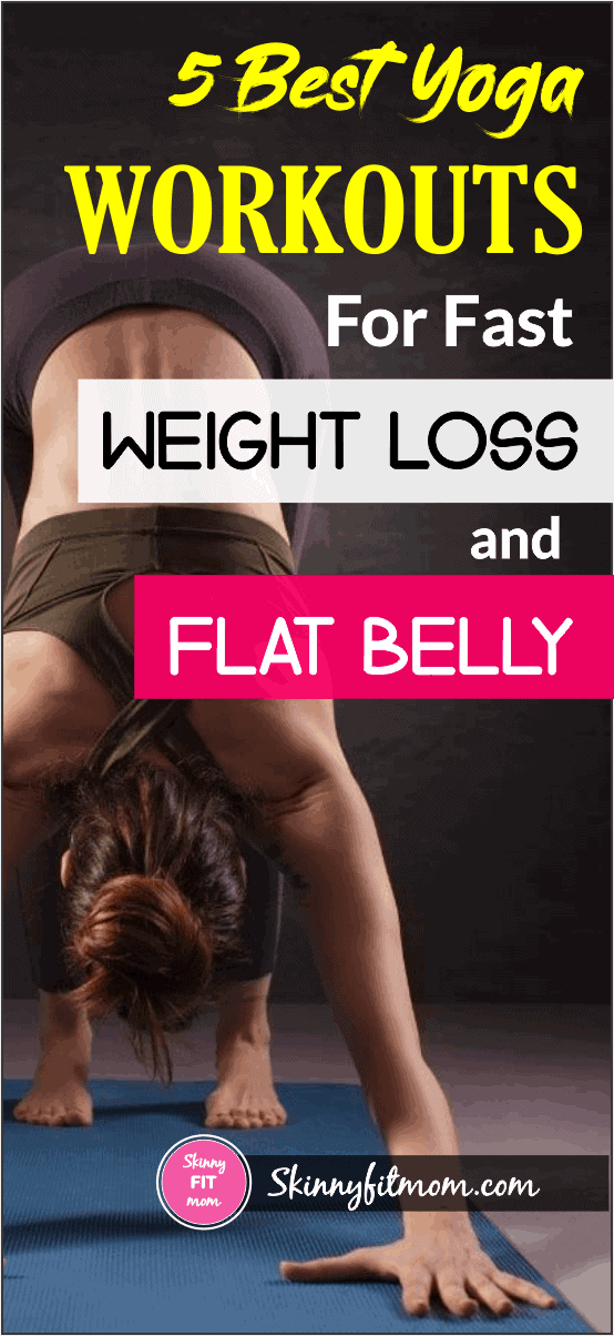 Do you want to lose weight easily? Then Try these top 5 Yoga Poses for Weight Loss and Flat Belly THAT Works #bellyfat #yoga