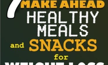 7 Make Ahead Healthy Meals and Snacks for Weight Loss