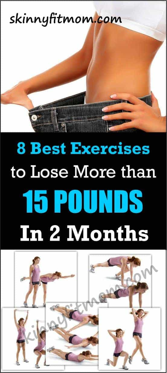 7 Best Exercises To Lose More Than 15 Pounds In 2 Months. Get transformed in just 60 days with 7 super exercises. The results are breathtaking!