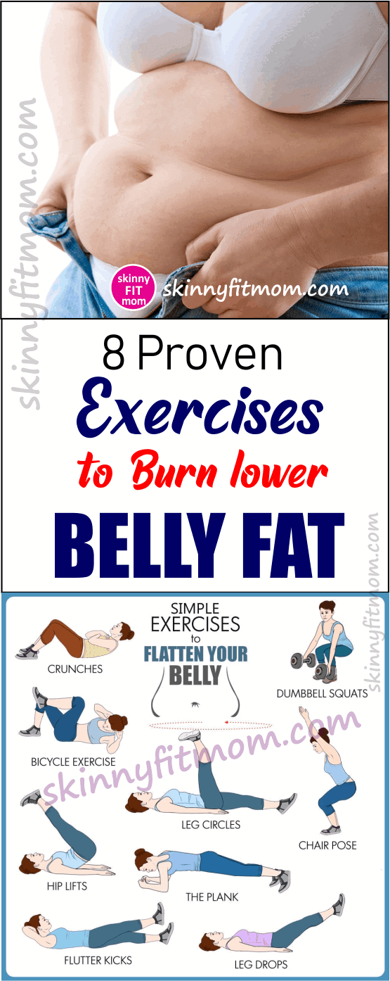 8 Proven Exercises To Burn Lower Belly Fat and get a six pack ab in 30 days .It will also help you to firm and tone your stomach, lose muffin tops, belly pooch fast in a month .