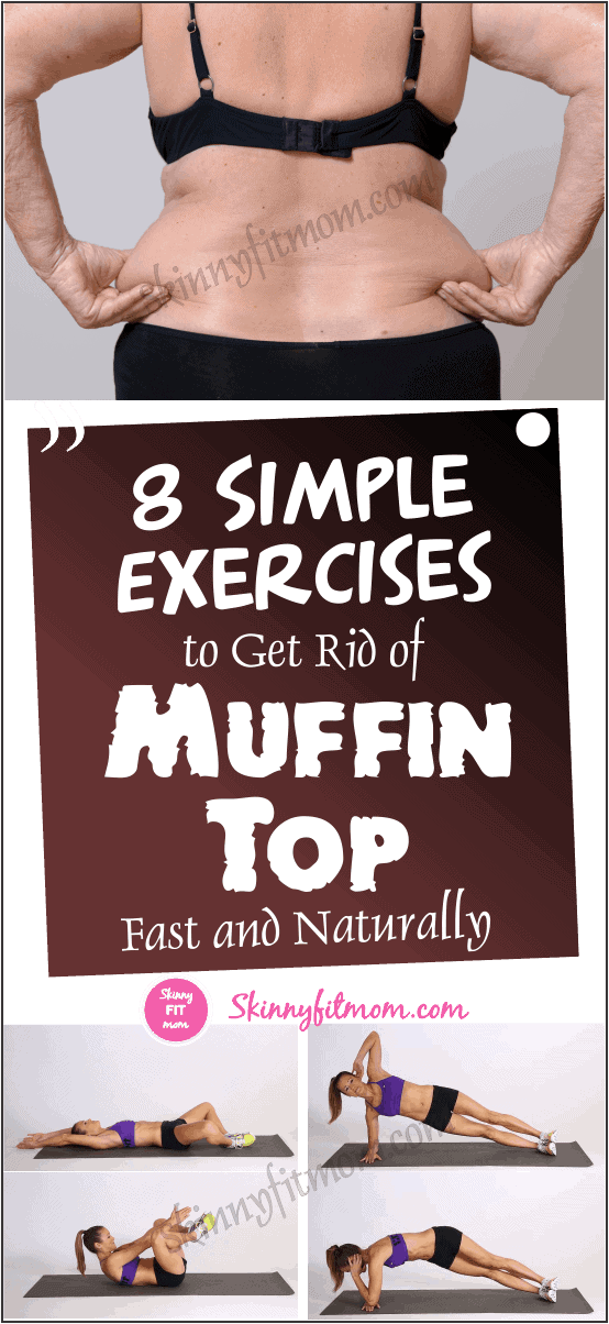 The Most Effective Muffin Top Exercises That Will Eliminate Love Handles Fast In A Week. #muffintop #getridofmuffintop