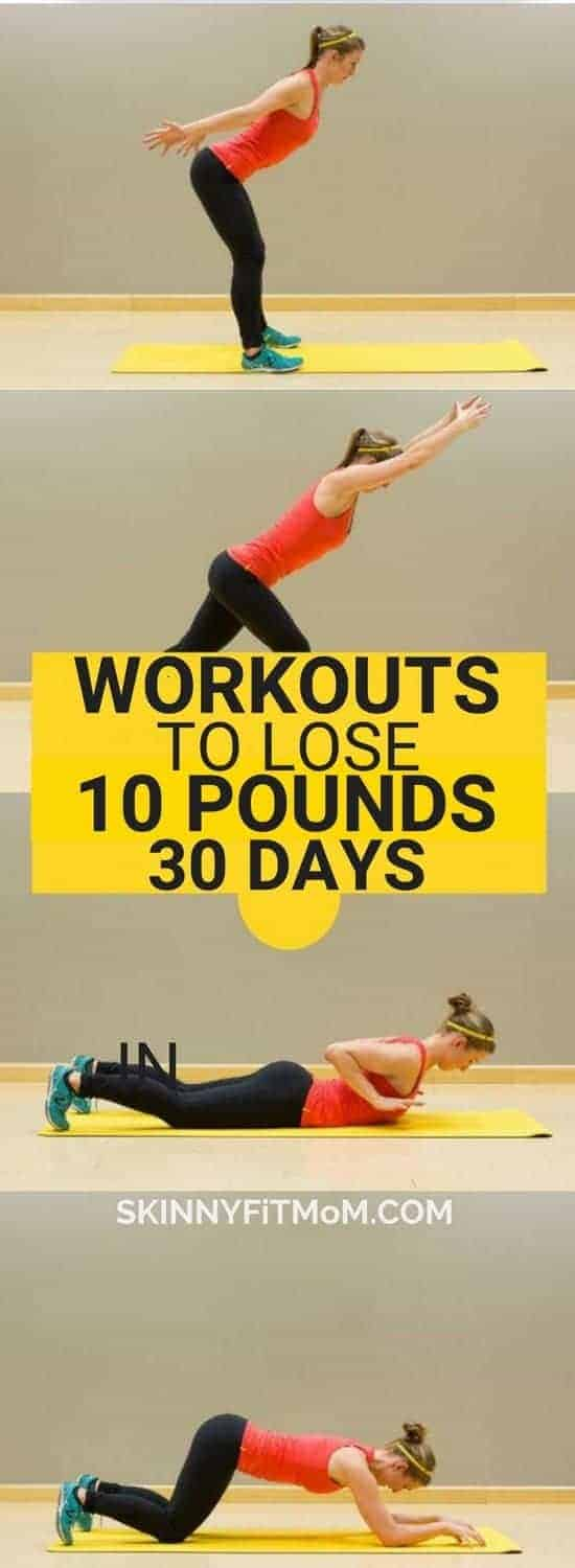 Best Workouts To Lose 10 Pounds In 30 Days Plus 7 Perfect Weight Loss Diet Tips