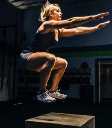Box Jumps - 4 mins fat burning workouts