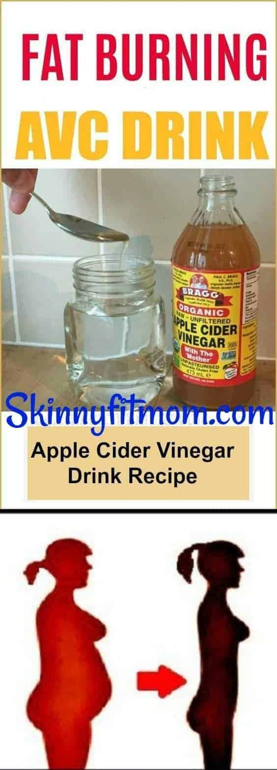 Apple Cider Vinegar with Papaya Smoothie - 10 DIY Detox Water For Weight Loss And Cleansing