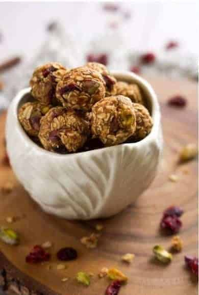 Fruit & Nut Trail Mix Energy Bites - 7 Make Ahead Healthy Meals and Snacks for Weight loss
