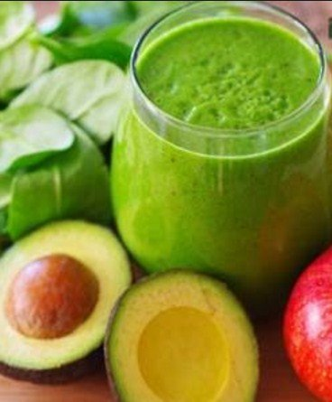 Green Apple & Avocado Detox Smoothie - Top 9 Detox Smoothie Recipes for Quick Weight Loss