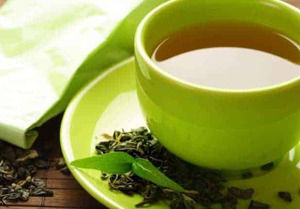 Green Tea - 12 Best home remedies for blackheads that works
