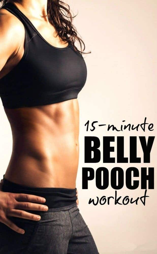 How To Lose Lower Belly Fat : 15-Minutes Lower Belly Pooch Workouts