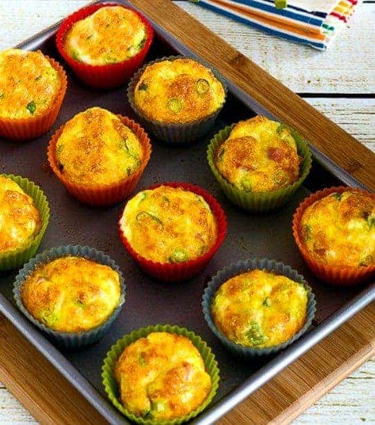 Low Carb Egg Mufffins - 7 Make Ahead Healthy Meals and Snacks for Weight loss