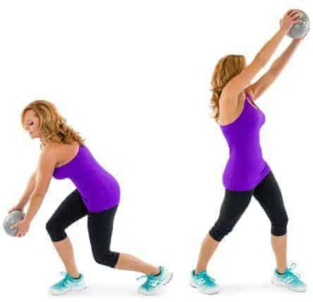 Med Ball Woodchopper - 6 Best medicine ball exercises to get toned abs