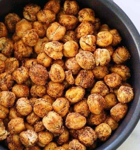 Roasted Chickpea Snack - 7 Make Ahead Healthy Meals and Snacks for Weight loss