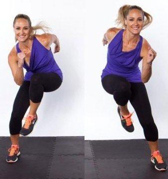 Side Shuffle Switch - 8 Exercise That Will Burn Inner Thigh Fat