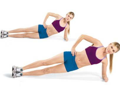 Side Plank Lift - How To Lose Lower Belly Fat