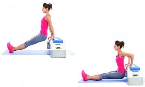 Triceps Dips - 12 Best Exercises To Get Rid Of Back Fat