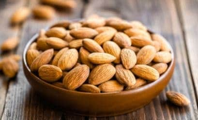 Almonds- 16 Best foods to reduce belly fat fast