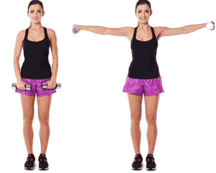 Deltoid Raise- 7 Best Exercises To Lose Arm And Back Fat