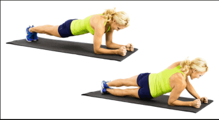Hip Twister -EXERCISES TO GET RID OF BACK FAT