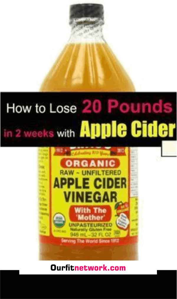 Do you want to cleanse your body for weight loss? Apple cider vinegar cleanse your body from toxins and melt extra fats - Drink this early in the morning and before going to bed at night to lose 20 pounds in just few weeks. #applecidervinegar #weightloss #