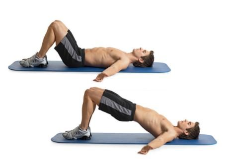 reverse hip raise-13 Best Exercises For Lower Back Pain Relief
