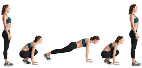 Burpees Exercise For Fat Burning