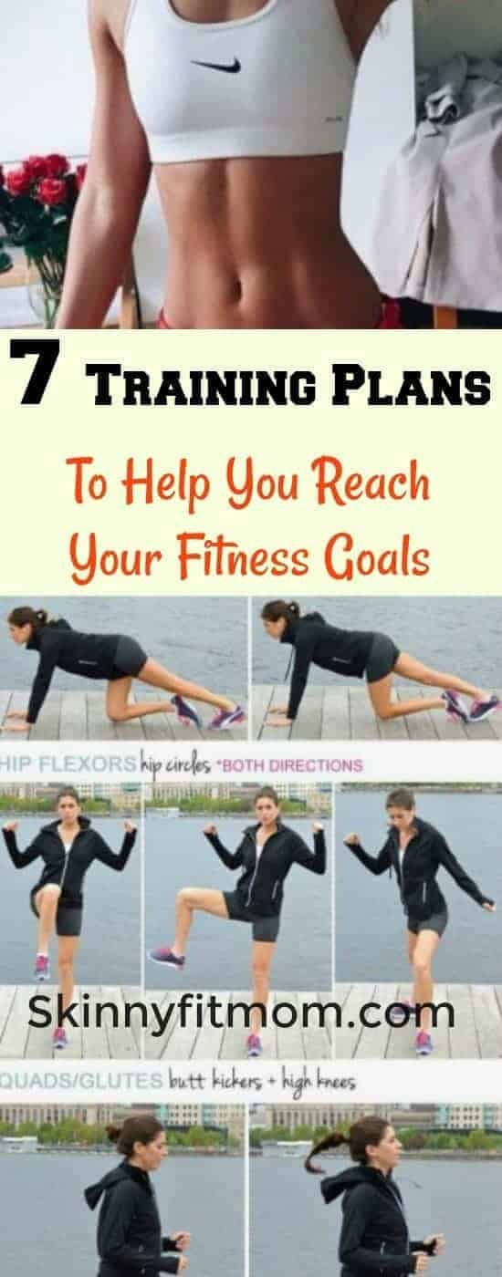 Looking for training Plans to help you reach your fitness goals? Get in here and pick any of these plans to stay fit.