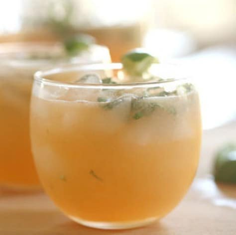 Cantaloupe, Honey, and Mint Agua Fresca Recipe - 10 DIY Fruit Infused Detox Water Recipes for Weight Loss