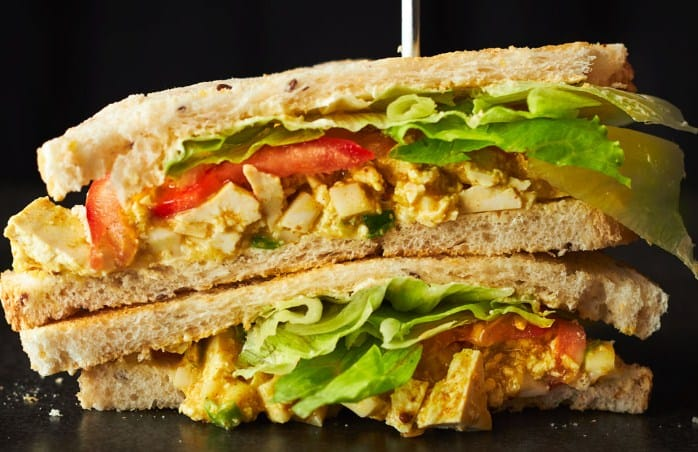 Curried Egg Salad Sandwich - 8 Delicious Foods That Will Help You Lose Weight Fast