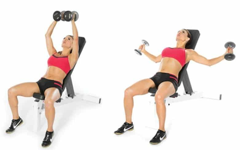Dumbell ButterFly Exercise - 8 Simple Exercises to Lift Sagging Breasts And Make Them Firm