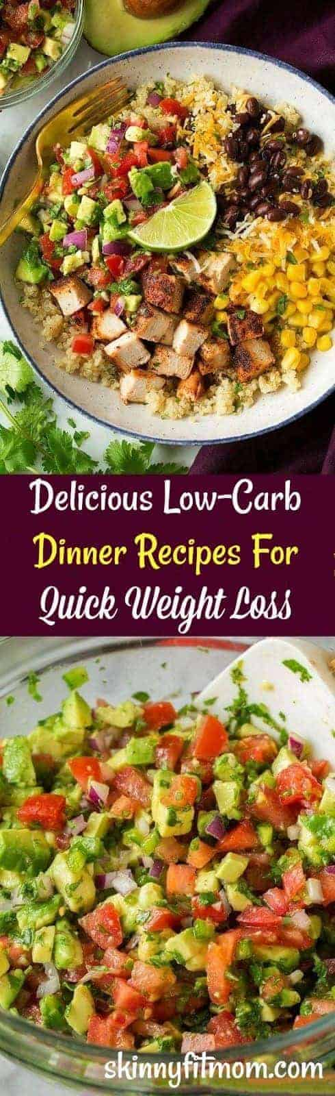 Simple and Delicious Low-Carb Dinner Recipes For Quick Weight Loss. You will be amazed at how fast results can come.