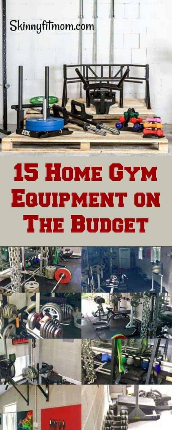 15 Home Gym Equipment on The Budget. Set up your amazing home gym while sticking to your budget. #Homegym #gymequipment #fitness