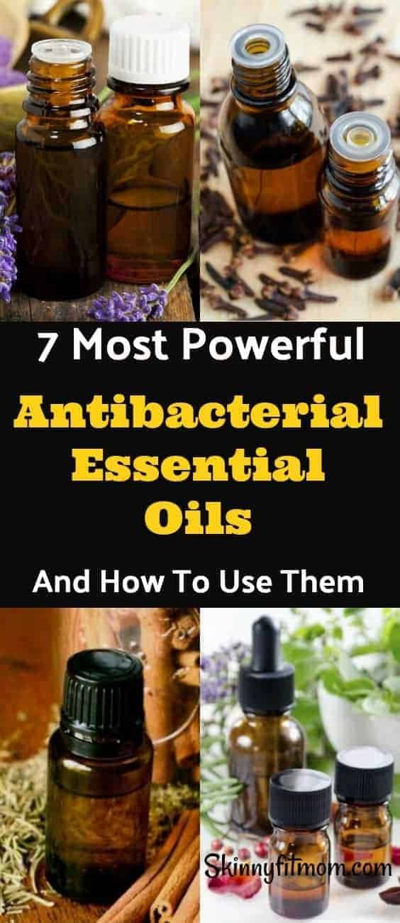 7 Most Powerful Antibacterial Essential Oils & How To Use Them. Check out the most powerful antibacterial essential oils.