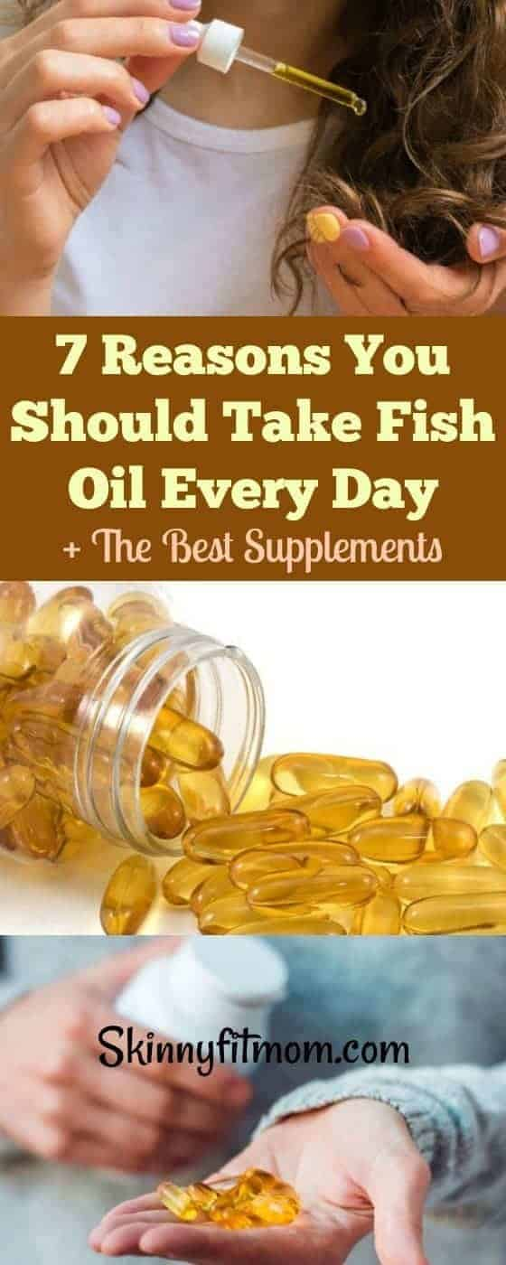 7 Reasons You Should Take Fish Oil Every Day + The Best Supplements. Here's why you need to take fish oil daily. You'd be shocked at what you have been missing. #fishoil #supplements #health