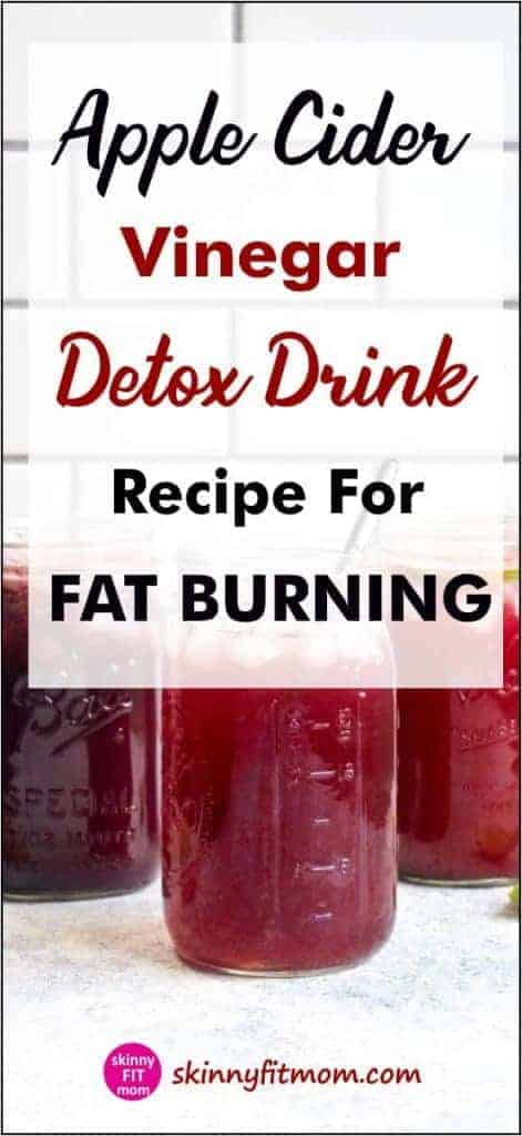 How To Use Apple Cider Vinegar Detox Recipes to help detox your body, speed up weight loss, and boost your immunity!