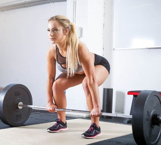 Deadlifts- 9 Effective Glute Workouts for Women To Tone, Firm, Lift, Tighten + Make Butt Bigger