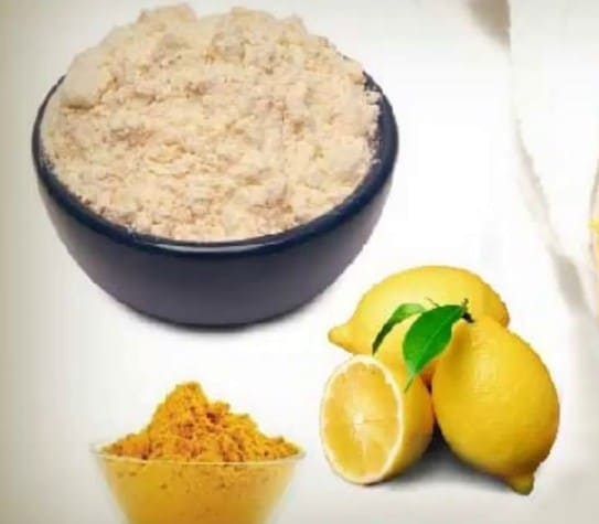 Green Tea, Rice Flour and Lemon juice mask- 8 Homemade Face Mask Recipes To Fix All Skin Problems
