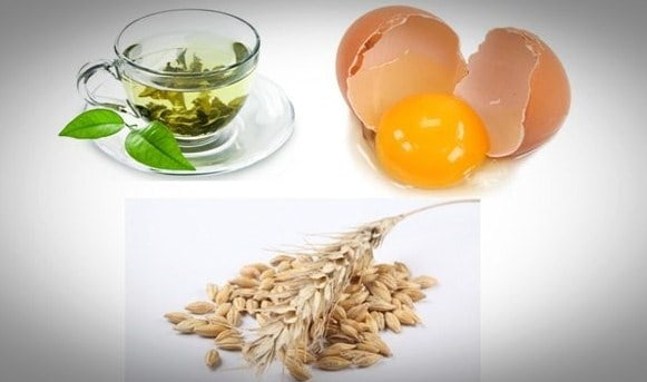 Green tea, Oats and Egg- 8 Homemade Face Mask Recipes To Fix All Skin Problems