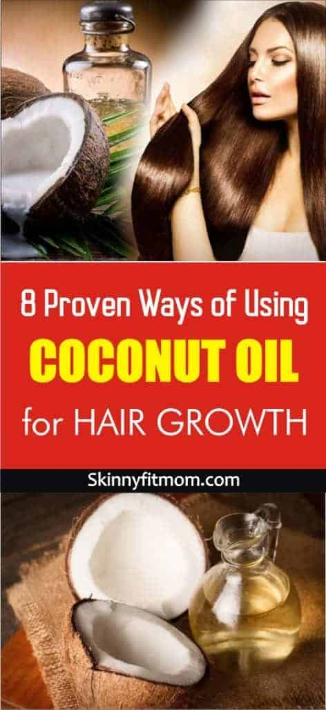 Are you looking for proven ways of using coconut oil for hair growth? These are tricks and tips to get fast and amazing results. #CoconutOil #HairGrowth #FastHairGrowth