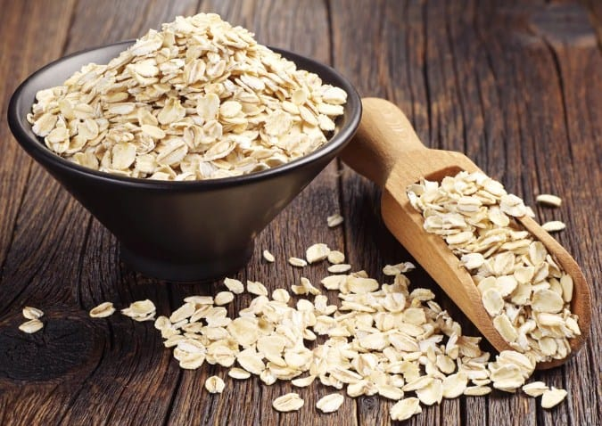 Oats- 13 Home Remedies To Get Rid Of Eczema