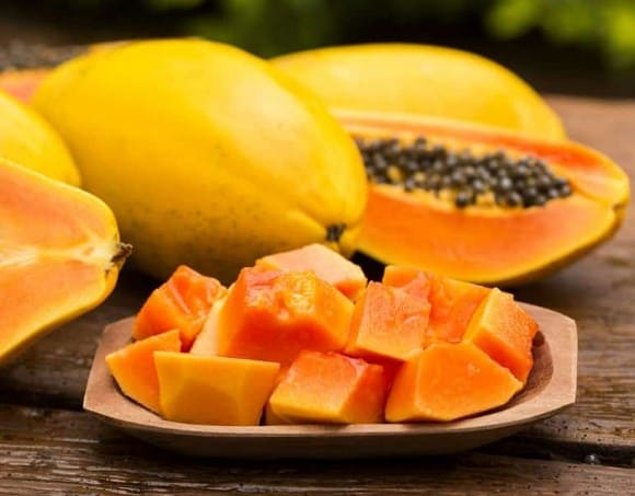 Papaya- How To Get Rid Of Acne + 11 Home Remedies For PimplesThat Work Fast
