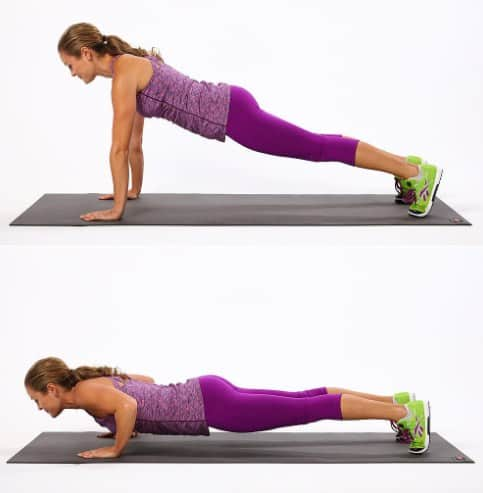 Push Ups- 7  Proven Tips + Workouts To Lose Arm Fat In A Week