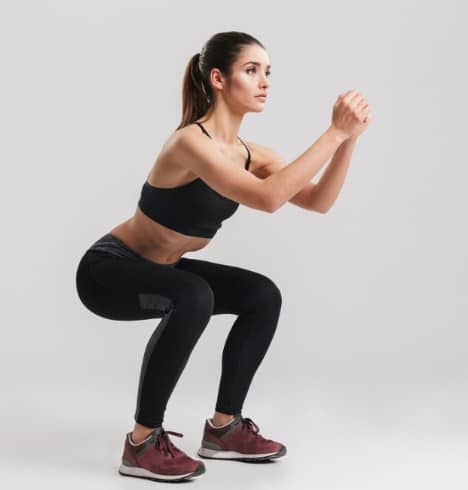 Squat-7 Best Leg Workouts at Home to Reduce Leg Fat