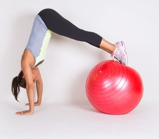 Stability Ball- 15 Home Gym Equipment on The Budget