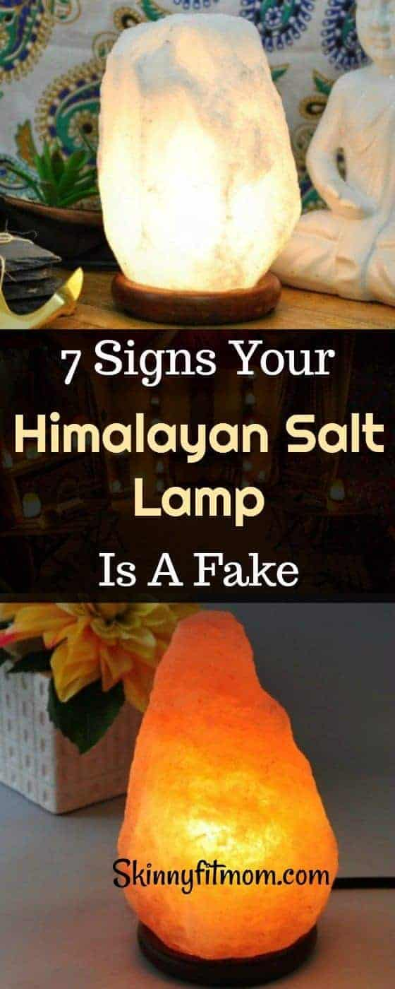 7 signs Your Himalayan Salt Lamp Is A Fake. Here's how to know if your Himalayan salt lamp is fake. #himalayansaltlamp