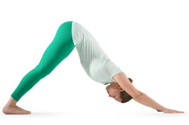 Downward Facing Dog Pose- Yoga Poses For Anxiety And Stress Relief