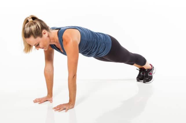 Push ups- 8 Best Exercises to Get Rid of Love Handles