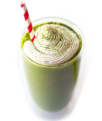 Iced Green Tea Smoothie- 8 Healthy Low Calorie Snack For Instant Weight Loss